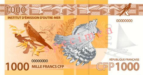 Billet 1000 F CFP